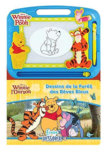 Phidal Disney Winnie lourson Écrire et Dessiner, Français, Multicolore