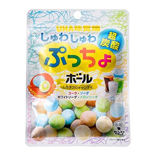 味覚糖 ぷっちょボール しゅわしゅわ炭酸アソート 50g×72個