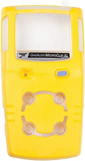 BW Technologies MCXL-FC1 Replacement Front Cover for Microclip XL Gas Detector, Yellow