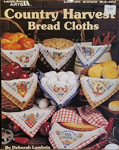 Country Harvest Bread Cloths - Cross Stitch (Leisure Arts, Leaflet 2558)