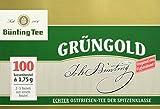 Bünting Tee Grüngold Echter Ostfriesentee 100 x 1.75 g Beutel
