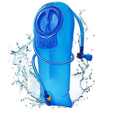 RESVIN Hydration Bladder 2.5 Liter BPA Free Water Bladder, Hydration Pack Replacement,for Biking, Running, Walking, Hiking, Climbing, Cycling