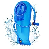 RESVIN Hydration Bladder, Water Bladder, 3 Liter Leak Proof Water Reservoir, BPA Free Water Hydration Pack Replacement, for Hiking Biking Climbing Cycling Running, Large Opening