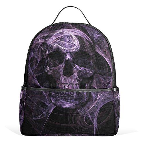My Daily Skeleton Skull mochila casual personalizada para la escuela, viajes al aire libre