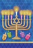 Briarwood Lane Happy Hanukkah House Flag Holiday Menorah 28