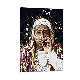 Rapper Rap Hip Hop Lil Wayne Leinwand-Kunst-Poster und