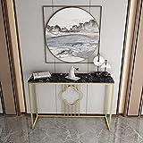 Decoración De Tablas De Consola De Pasillo, 80/100 Cm Fácil De Instalar Mesa De Pared Hotel Dinning Table Cafetería Moderno Sofá O Mesa De Entrada(Size:80 * 30 * 80CM,Color:#3)