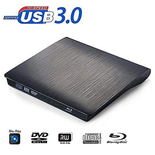 FWec Blu-ray brander, USB 3.0 Bluray Drive CD DVD RW Brander Schrijver Externe optische schijf BD-R Speler Voor Laptop & Desktop & Notebook