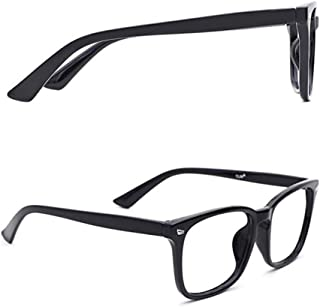 Anti Blue Light Protector Eye Glasses Square Nerd Eyeglasses Frame Anti Blue Ray Anti Eye Eyestrain Evewear Computer Game ...
