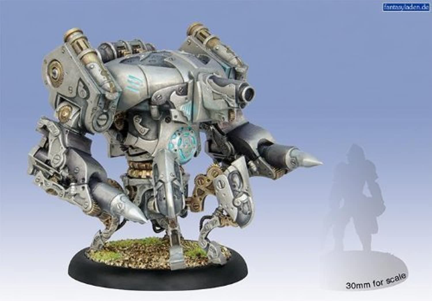 Cipher Ingreener Monitor Heavy Vector Convergence Box PIP36002 by Privateer Press Miniatures