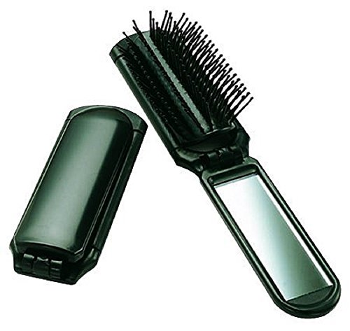 Ultra Folding Hair Brush with Mirror by Ultra