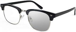 Gafas Con Filtro De Luz Azul, Lentes Fotocromática Oscuro en la Luz del Sol - Gafas de Computadora Anti Fatiga de Ojos par...