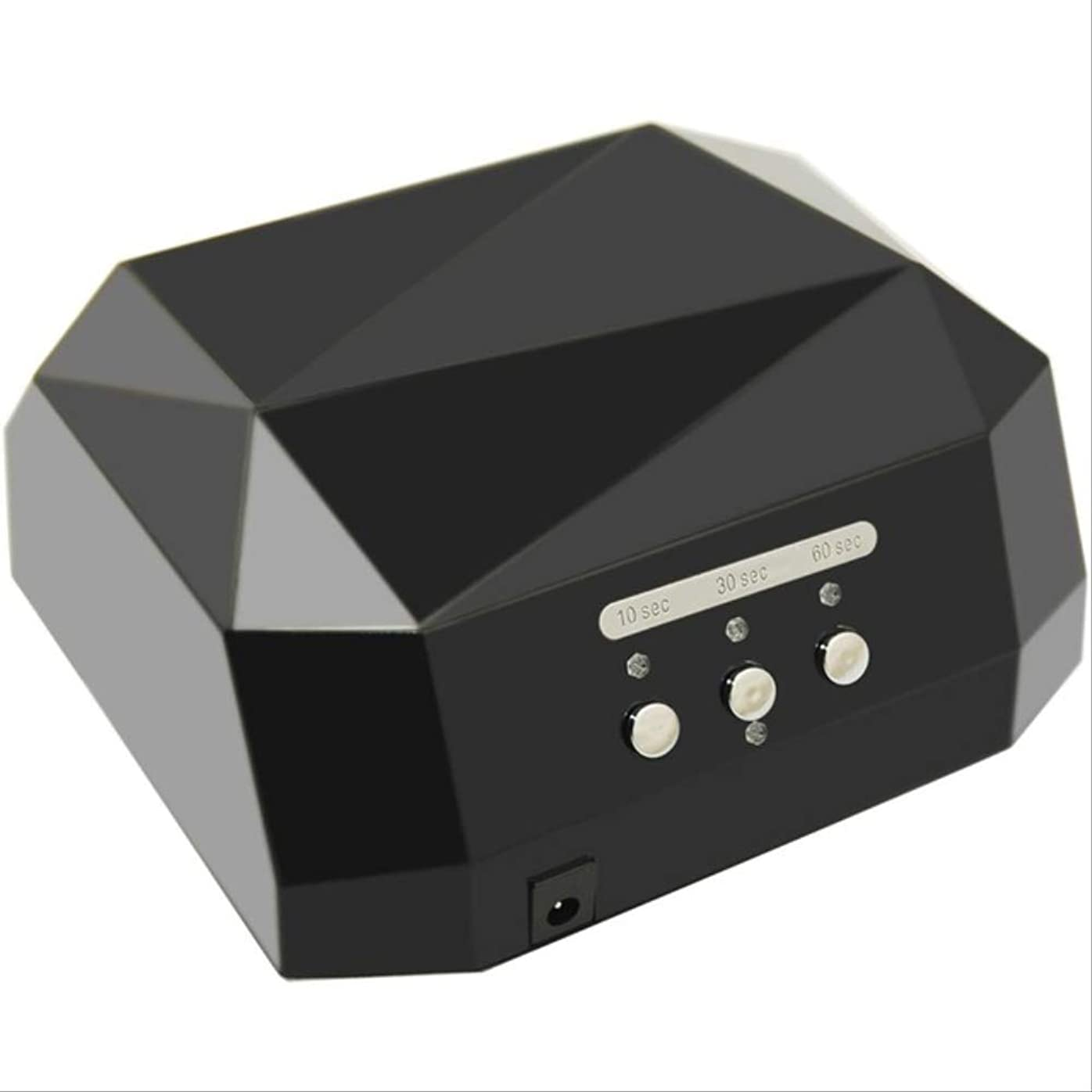 フィドル生きている支援36w釘のドライヤーのダイヤモンドは紫外線ランプの釘の薄黒を導きました
