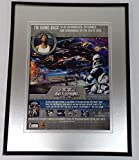 2005 Star Wars Battlefront II PS2 Framed 11x14 ORIGINAL Advertisement