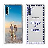 MXCUSTOM Coque Personnalisée Samsung Galaxy Note 10, Personnalisable avec Votre Propre Photo Image...