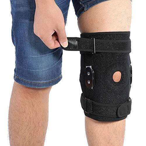 Kniebandage, Professionelle verstellbare Kniestütze mit offener Patella-Kompression für Männer und Frauen Sport Guard Wrap für Arthritis