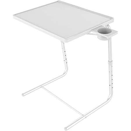 TV Tray TV Dinner Tray on Bed /& Sofa Comfortable Folding Table Angle Adjustments Space Paths Adjustable TV Tray Table-Mate Laptop Table and Overbed Table