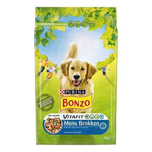Bonzo Adult Chicken Menu Chunks - Beutel 3 Kilo