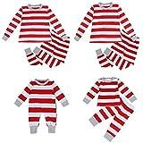 Conjunto de Pijamas navideños para Pijamas de Pijamas de Ropa de Dormir de Navidad Que Combinan con la Familia (Color : White Red, Size : Toddler 6-7T)