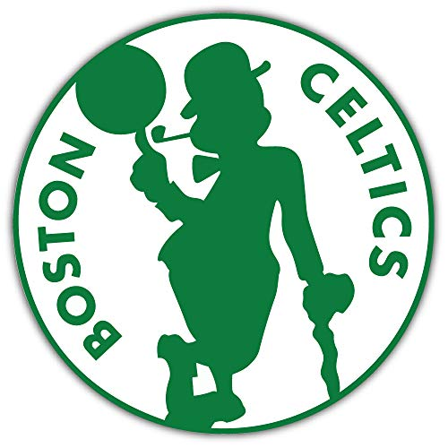 Boston City Celtic Basketball Sport Logo Die-Cut Sticker Decal 12'' X 12''