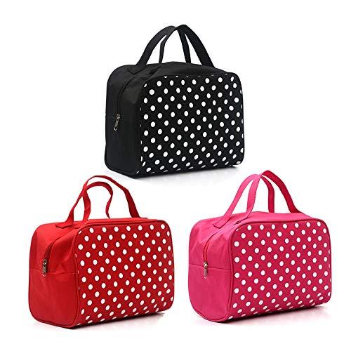 Dejva make-up tas voor dames, luxe, reis-organizer, strandtas, multifunctioneel, make-up tas
