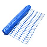 True Products B1005F 4kg 50m standard blu plastica mesh barriera di sicurezza recinz...