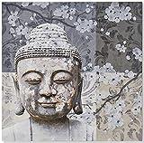 KERALA Cuadro Lienzo Buda A 40 X 40 cm.