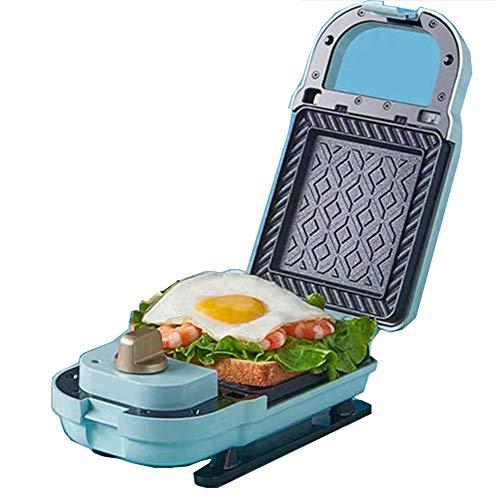 GPFDM La Mini Máquina para Hacer Sándwiches para Waffles Individuales, Paninis, Hash Browns Y Otros Desayunos, Almuerzos O Refrigerios para Llevar - Rosa