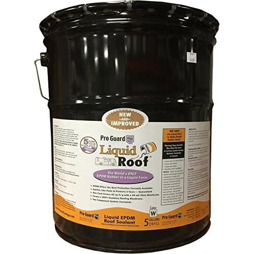 Amazon Com Liquid Roof Rv Roof Repair Liquid Epdm Coatings 5