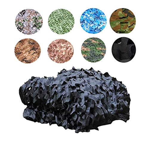 4x6m/13x19ft Sunshade Cloth Outdoor Hunting Camping Woodlands Forest Camouflage Camo Net Military Car Shade Cloths Cover Various Size (Color : -, Size : 4x6m/13x19ft)