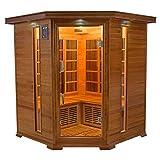 Sauna infrarrojo de lujo 3-4 personas LUXE3-4