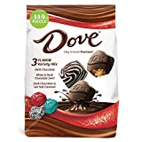DOVE PROMISES Variety Mix 3-Flavor Dark Chocolate Candy Assortment 34-Ounce Bag 120 Pieces