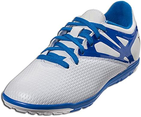 adidas Junior Messi 15.3 TF Shoes (White/Blue) (10.5K)