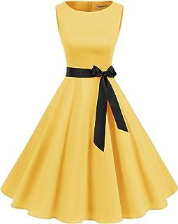 new products 8b247 6c55f Amazon.it: Giallo - Vestiti / Donna: Abbigliamento