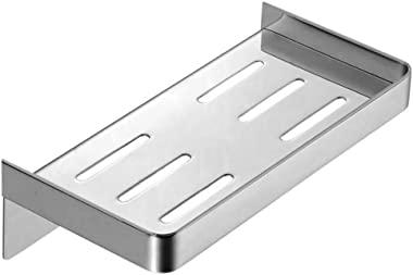 AIYoo Bathroom Shower Caddy Shelf 304 Stainless Steel Bath Shower Shelf Basket Style Wall Mounted Kitchen & Bathroom Shelves