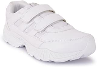 Campus Action Unisex White School Shoe