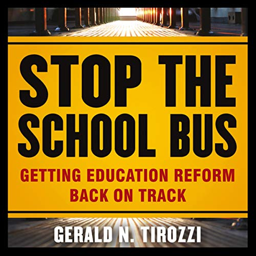 Stop the School Bus audiobook cover art