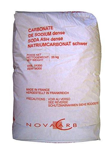 Natriumcarbonat Waschsoda schwer Waschkraftverstärker Soda pur 25 kg Papiersack