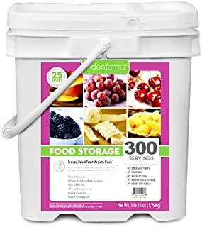 Lindon Farms Mixed Tropical Freeze Dried Fruits (300 Servings)