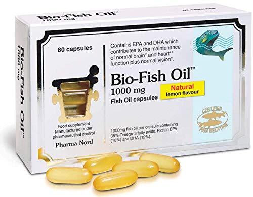 Pharma Nord 1000mg Bio-Fish Oil 80 Capsules (Pack of 3)