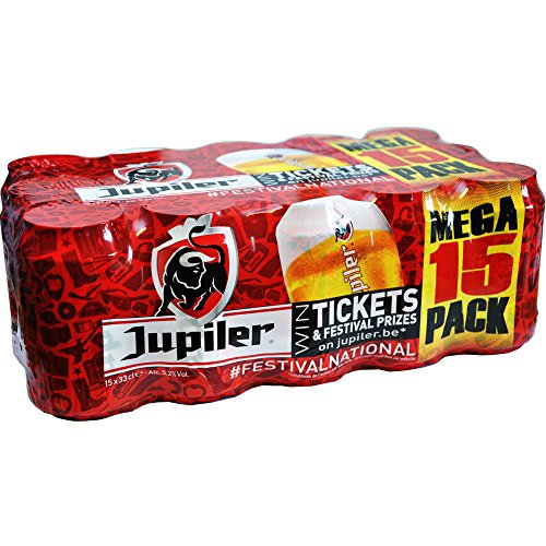 Belgisches Bier Jupiler 15x330ml 5,2%Vol