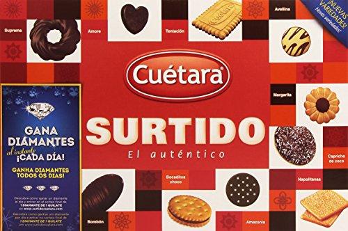 Cuetara - Surtido el Autntico - Surtido de Galletas - 420 g - [pack de 4]