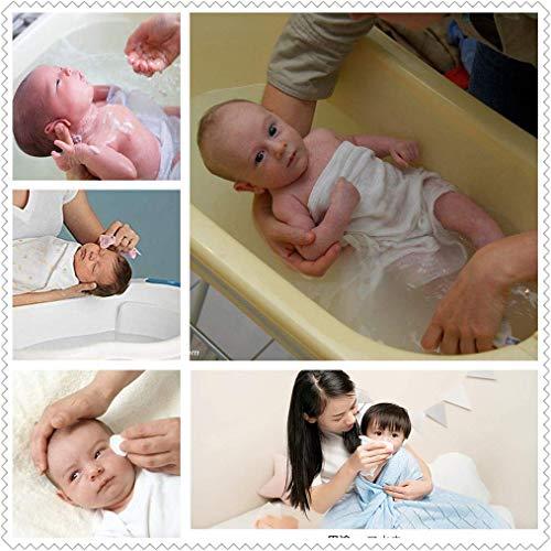 ガーゼハンカチ 子供 無地 白 綿100% ダブルガーゼ 新生児 口拭き 赤ちゃんガーゼ沐浴布 ベビービブ 15枚セット30×30CM
