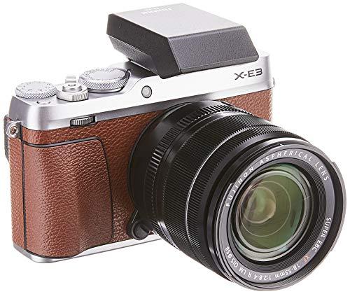 "Fujifilm X-E3 KIT XF 18-55 mm Fotocamera Digitale Marron 24 MP, Sensore CMOS X-Trans III APS-C, Schermo LCD Touchscreen 3"", Filmati 4 K, Bluetooth"