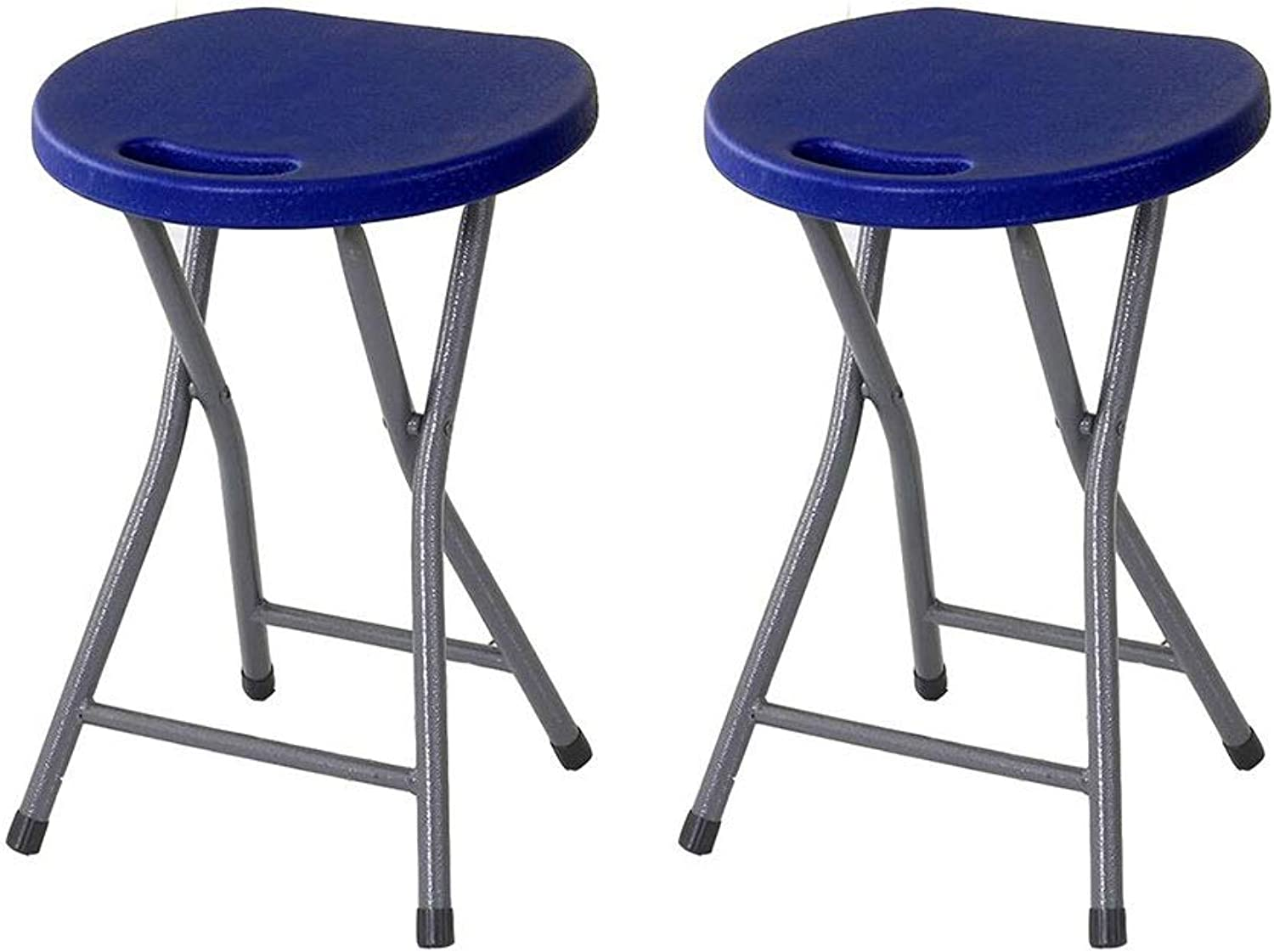 LBYMYB Stool Non-Slip Stacking Sturdy Chair Candy color Table Stool Furniture Chair (color   bluee1)
