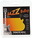 Thomastik Corde per chitarra elettrica Jazz BeBop Nickel Round Wound set BB111 Extra Light .011-.047w