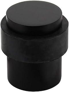 Intersteel Deurstop Vloermontage Diameter 30 X 40mm, Roestvast Staal, Zwart