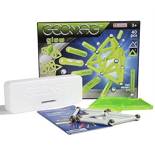 Geomag- Classic Glow, 40 PCS, Pezzi, 330