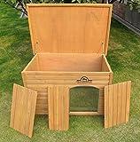Pets Imperial® Große, isolierte Norfolk Hundehütte aus Holz mit entfernbarem Boden zur einfachen Reinigung DE - 4