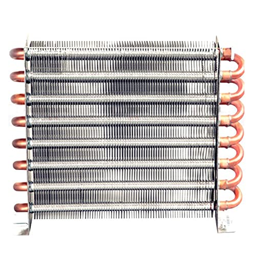 XIAOFANG Aluminium-Wasserkühlkörper-Aluminium-Waschbecken-Flossenkühler Gefrierschrank Kühlerkühlschrankkühler Kühlsystem 360-390W (Color : 225x45x210)